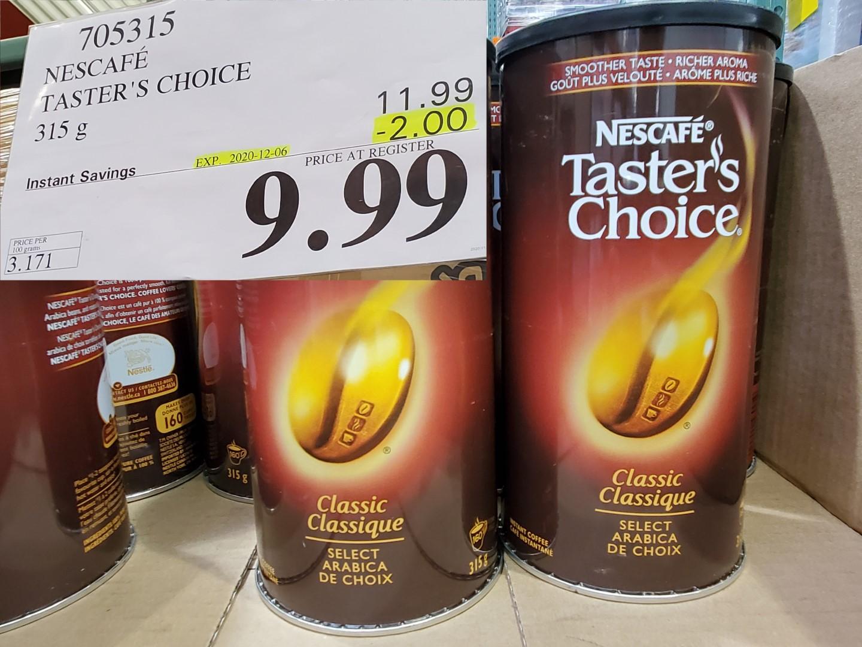 nestle tasters choice