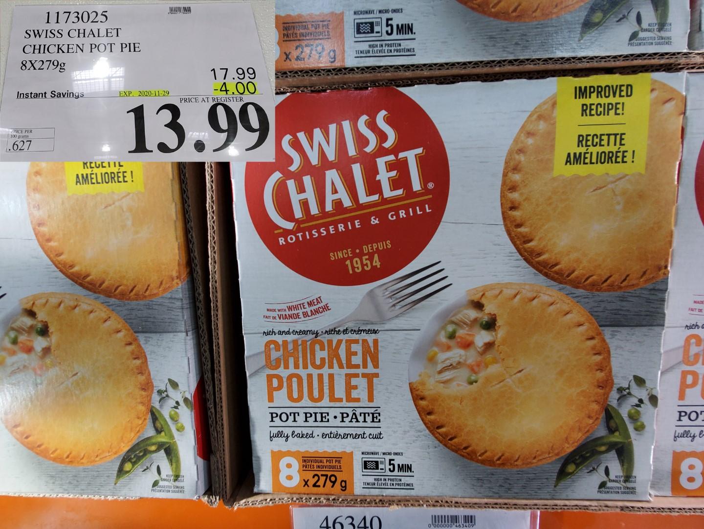 swiss chalet chicken pot pie