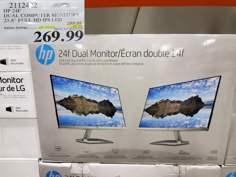 HP dual monitor