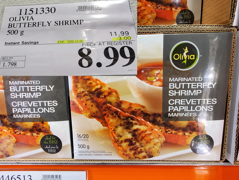 olivia butterfy shrimp