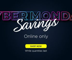 cyber monday savings