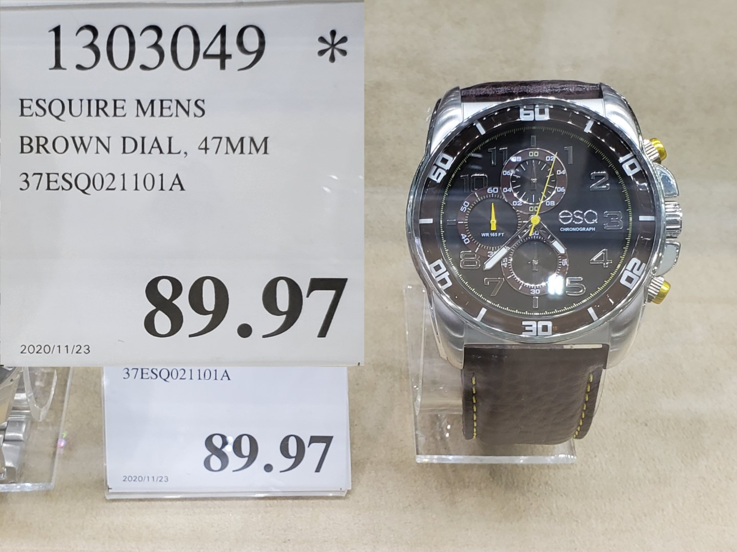 esquire mens watch