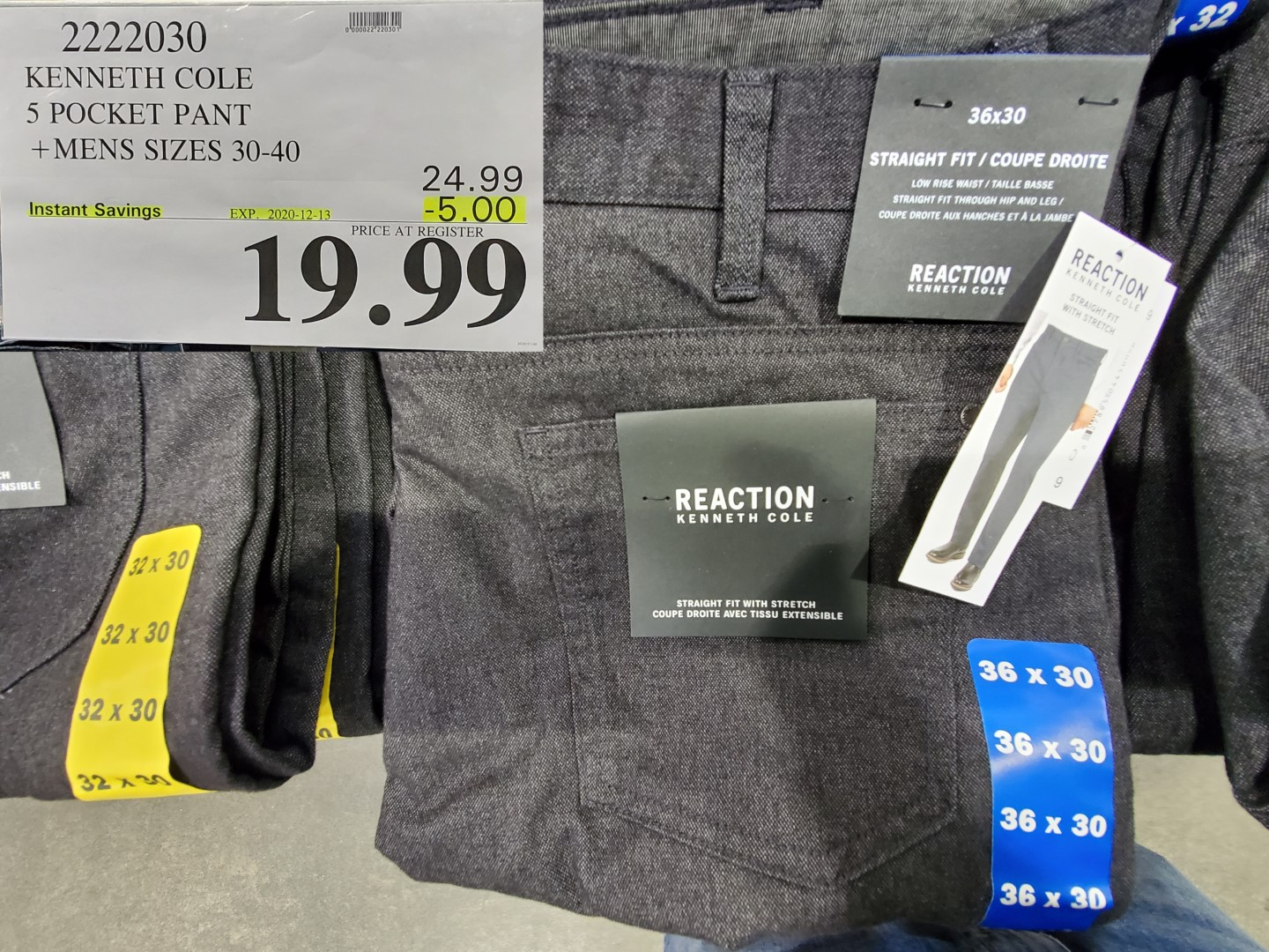 kenneth cole mens pants
