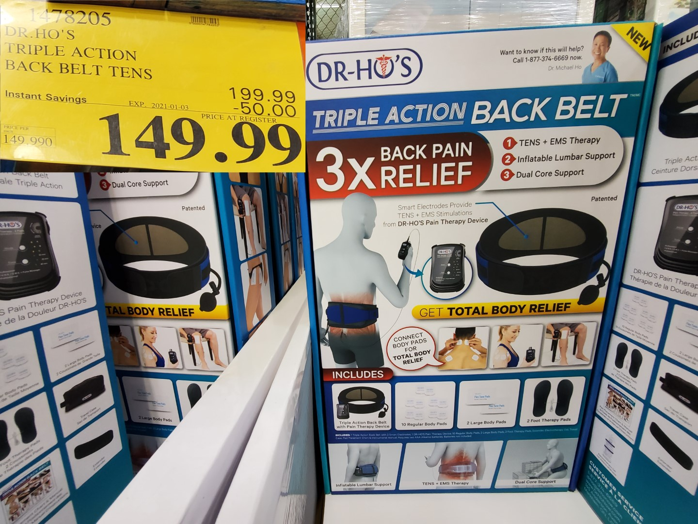 dr.hos tripe action back pain relief
