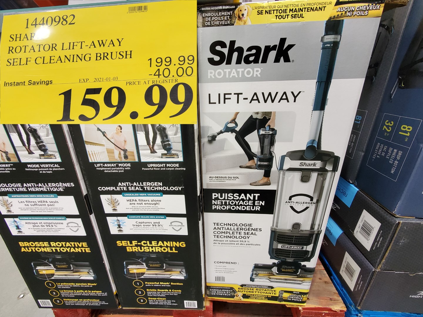 shark lift-away vacuum