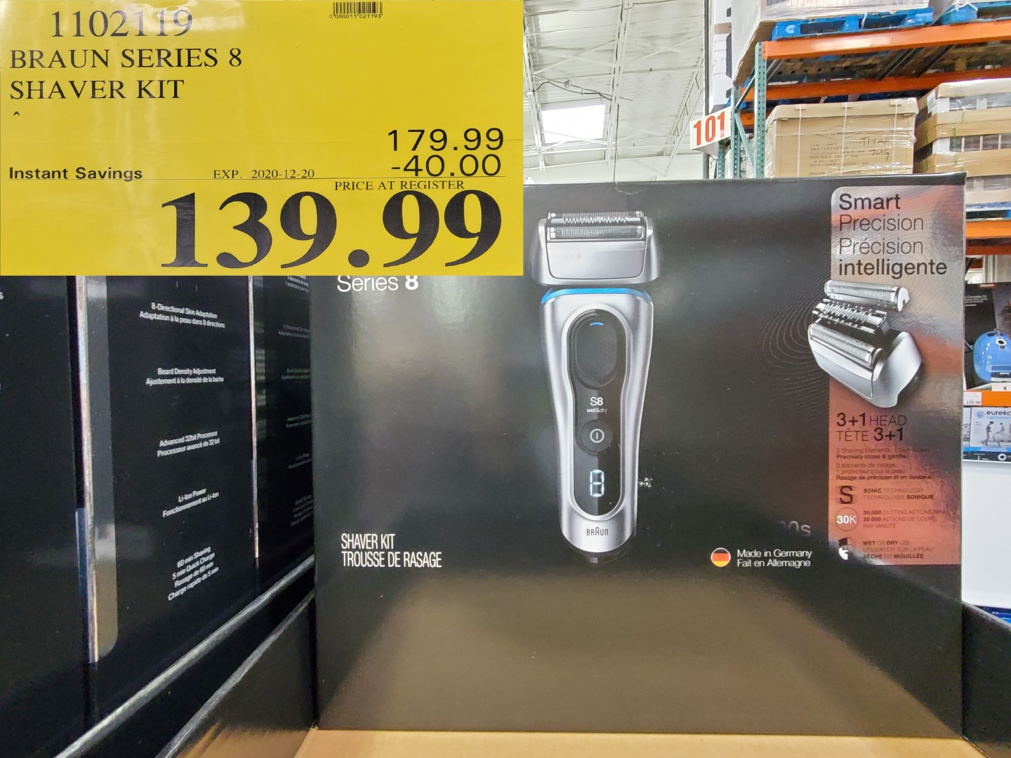 braun series 8 shaver kit