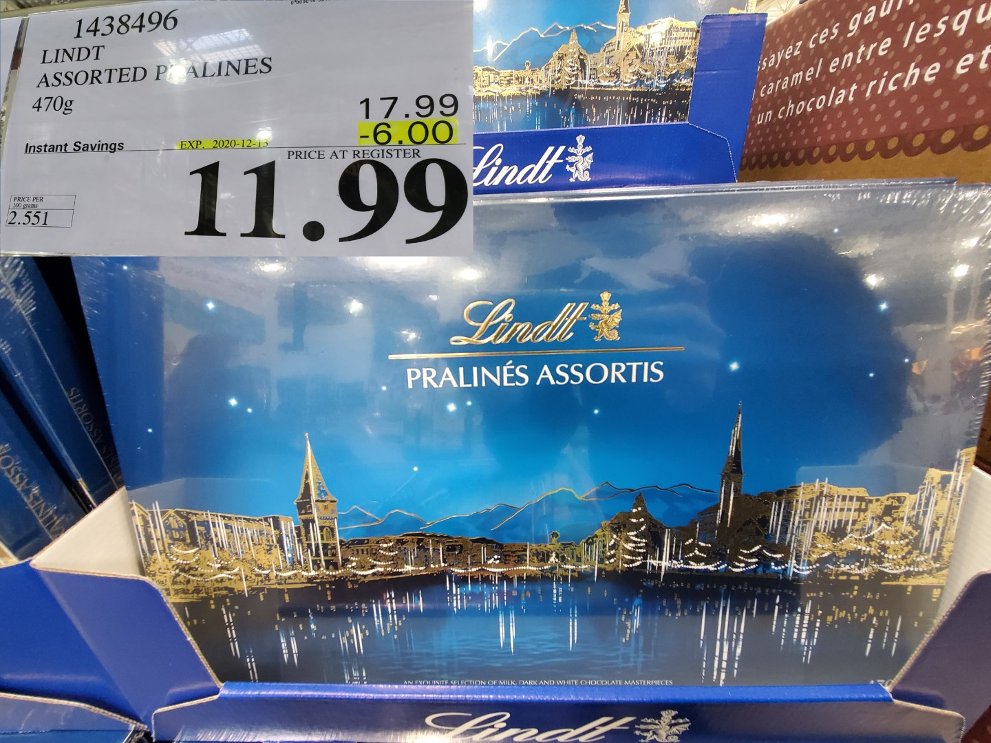 lindt assorted praelines