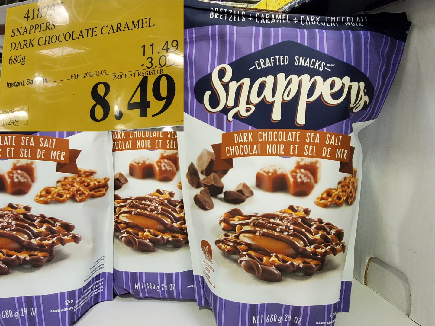 snappers dark chocolate