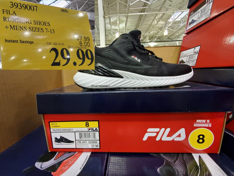fila mens running shoes