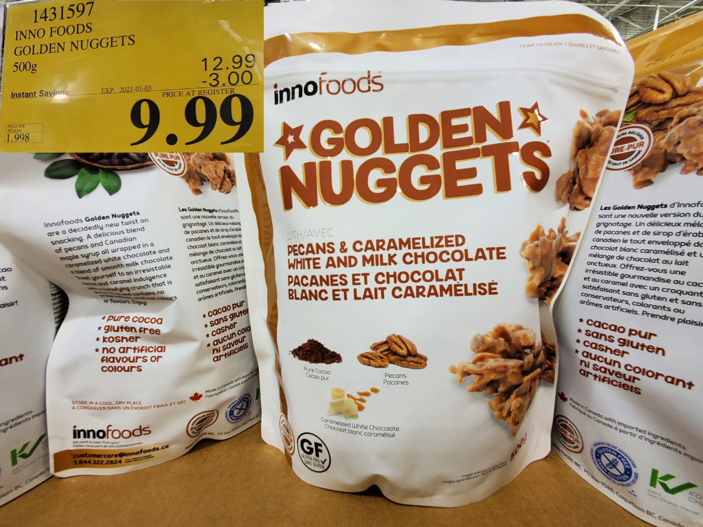 inno foods golden nuggets