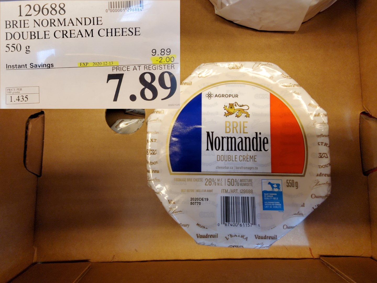 normandie double brie