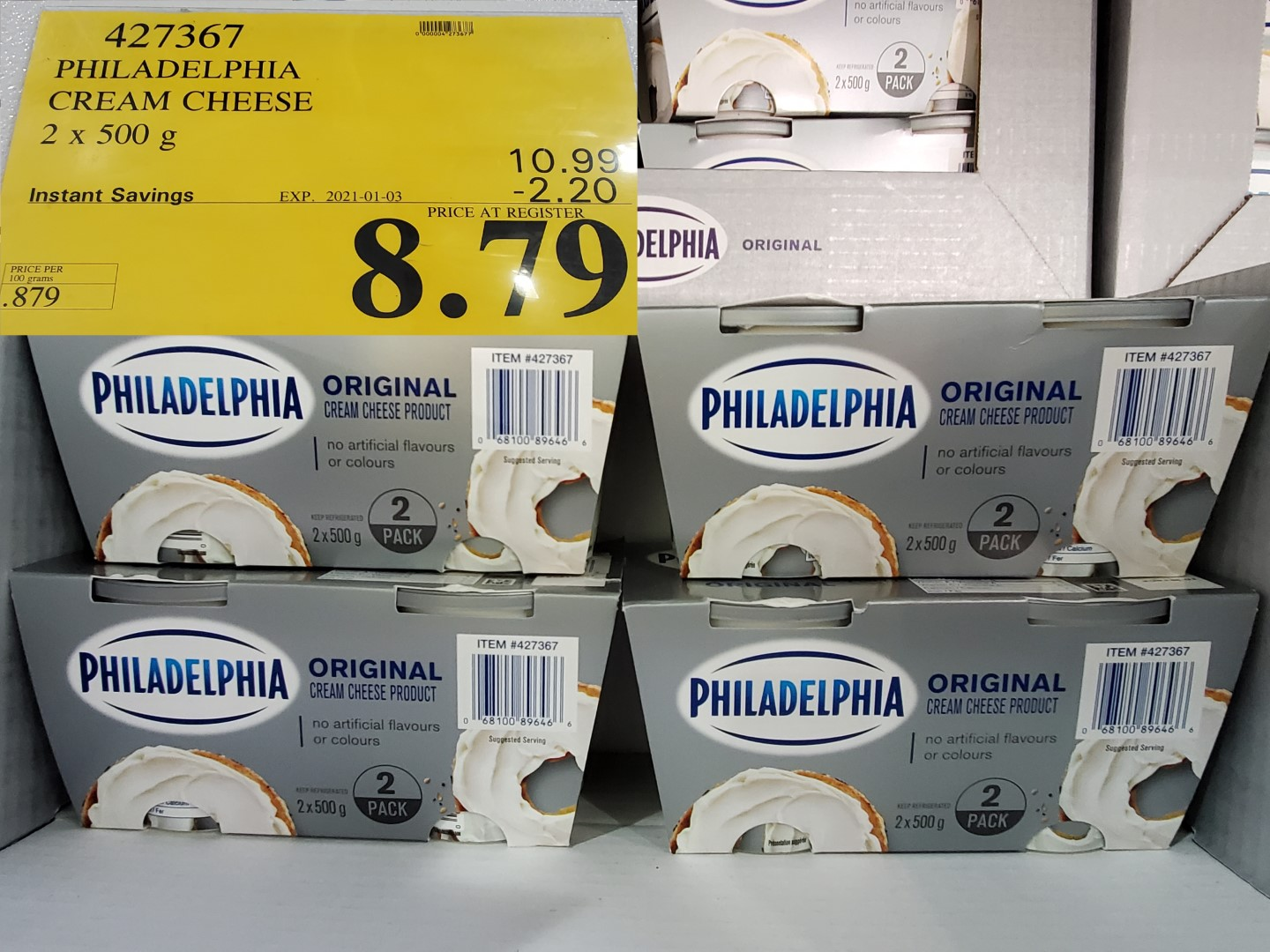 philedelphia cream cheese
