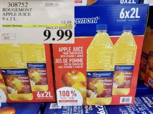 rougemont apple juice
