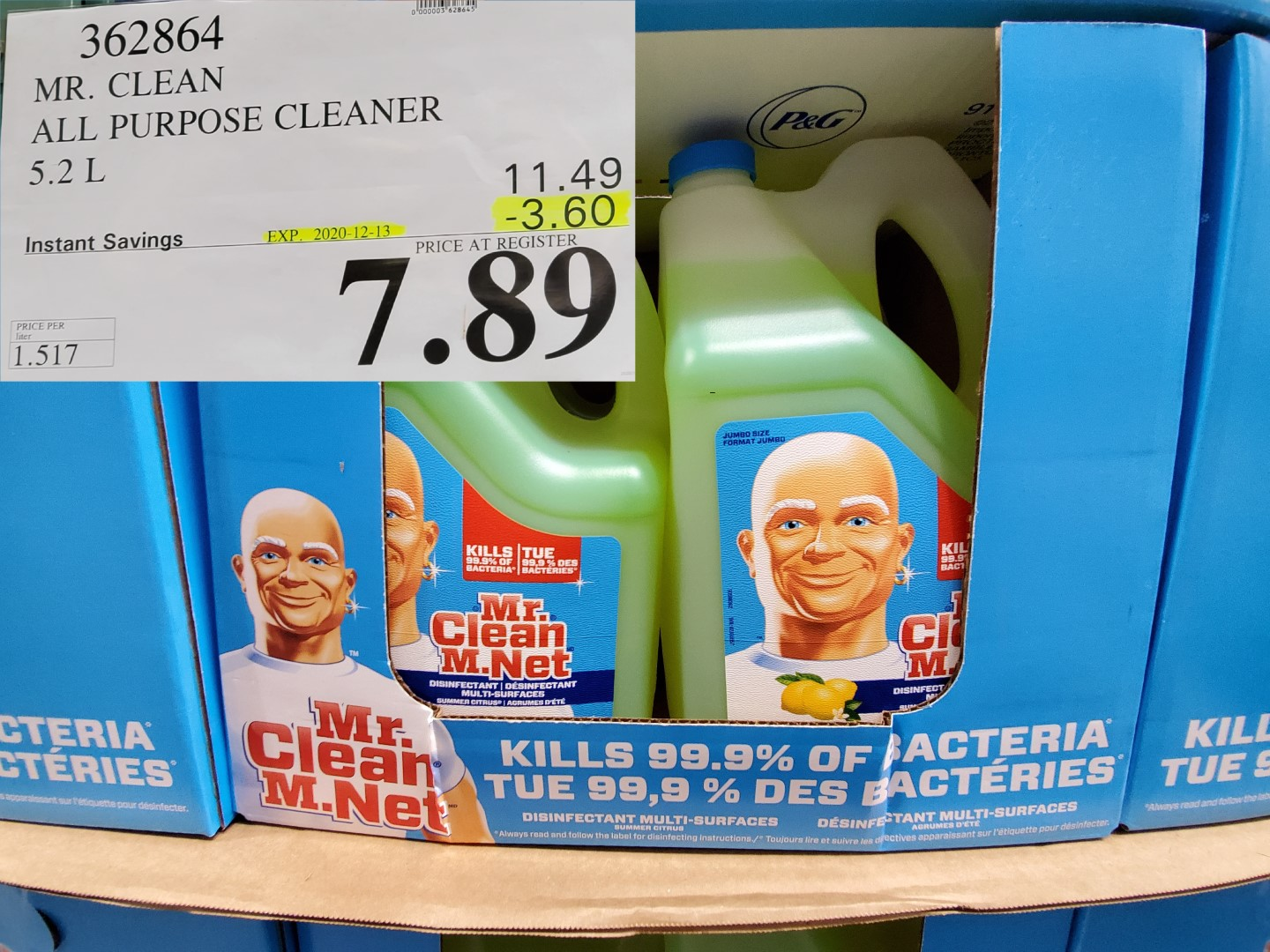 mr.clean all surface cleaner