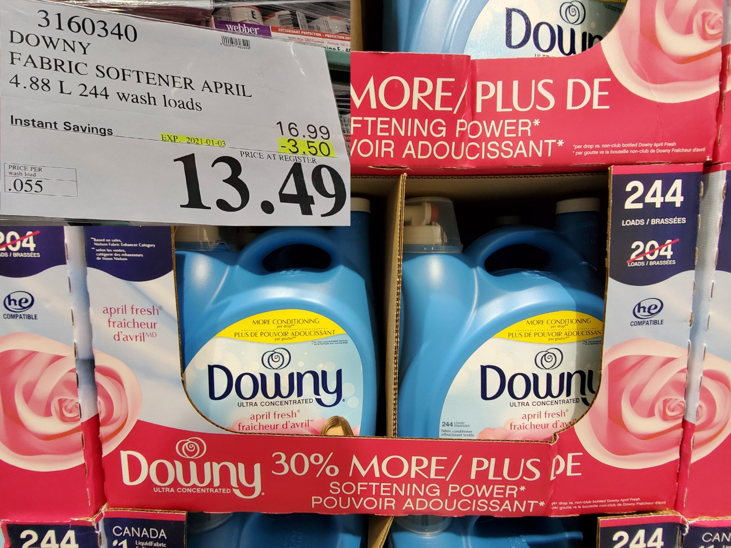 downy fabric softener