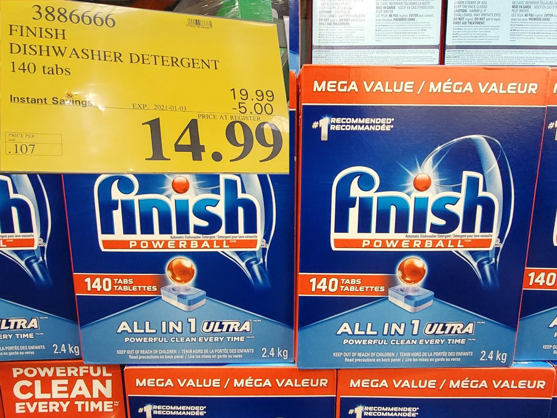 finsih powerball dishwasher detergent