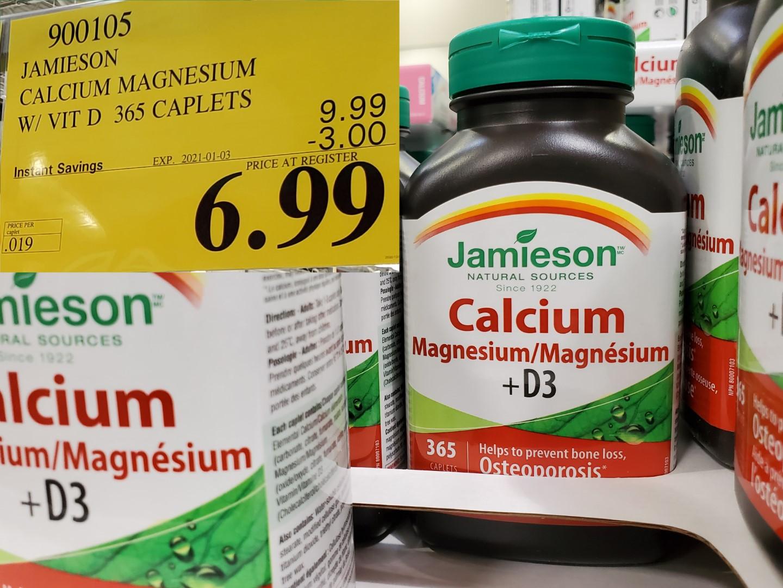jamieson calcium/magnesium