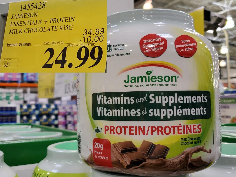 jamieson vitamins and suppliments powder