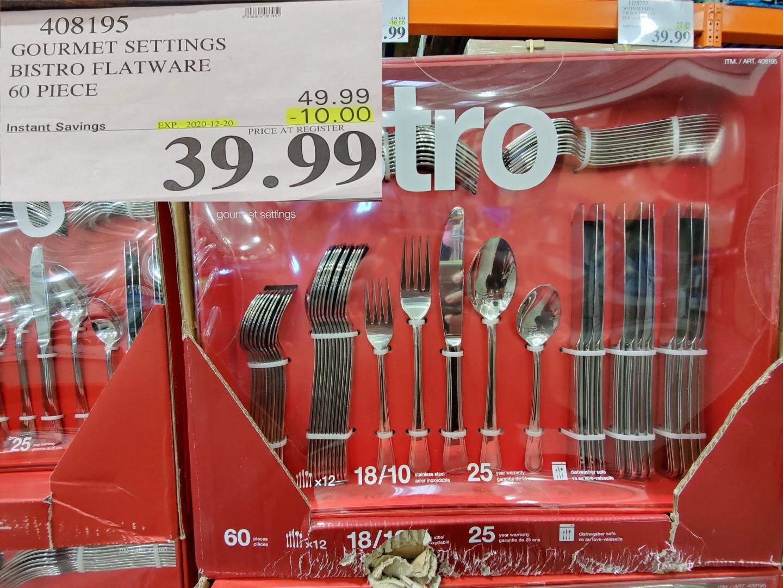 Bistro cutlery set