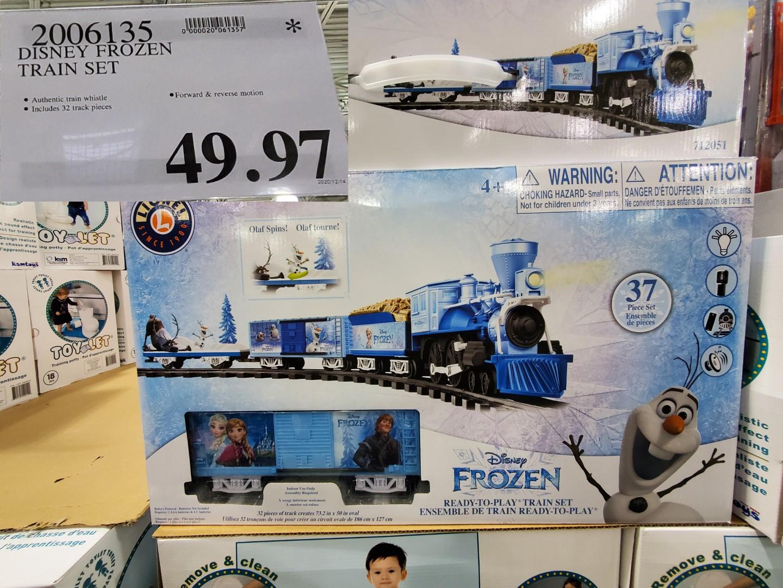frozen II train