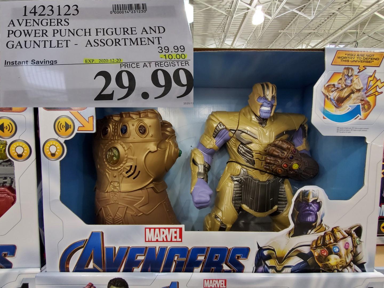 marvel avengers thanos glove