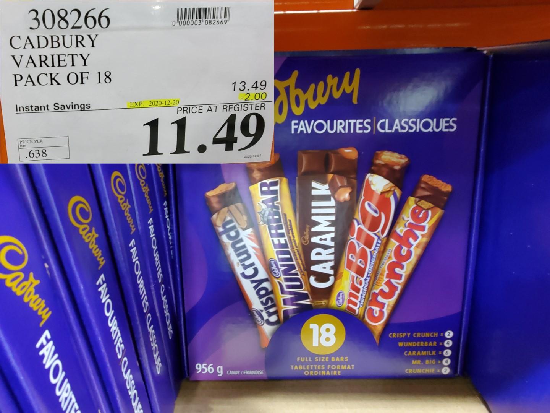 cadbury favorites