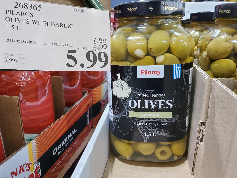 garlic stuffed olives