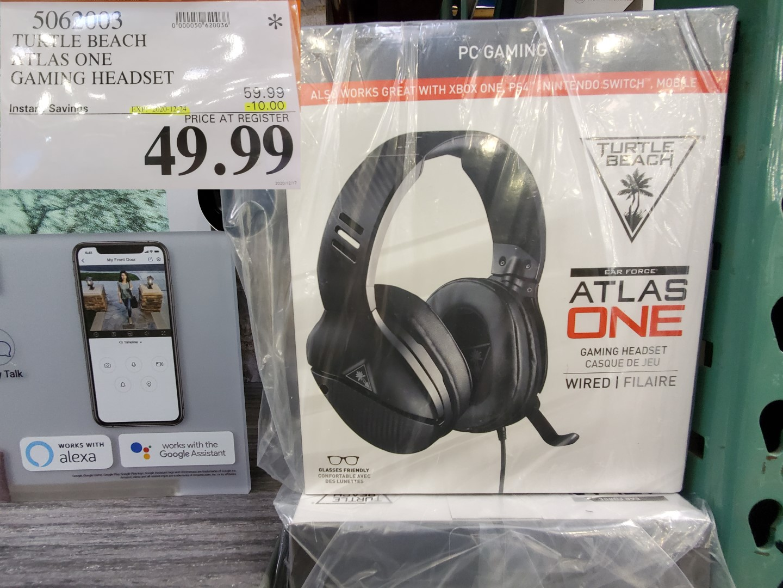 turtle beach atlas one gaming headset