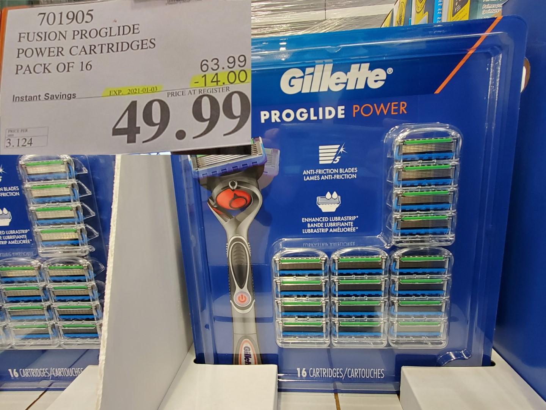 gillette proglide power cartridges