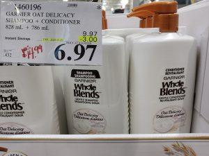garnier oat delicacy shampoo & conditioner