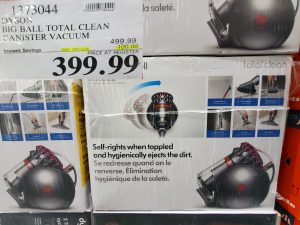 dyson big ball total clean canister vacuum