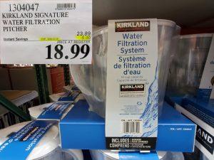 kirkland signature water filtration system