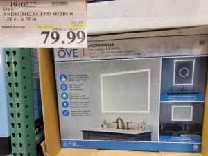 OVE andromeda LED mirror