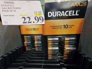 duracell AAA batteries