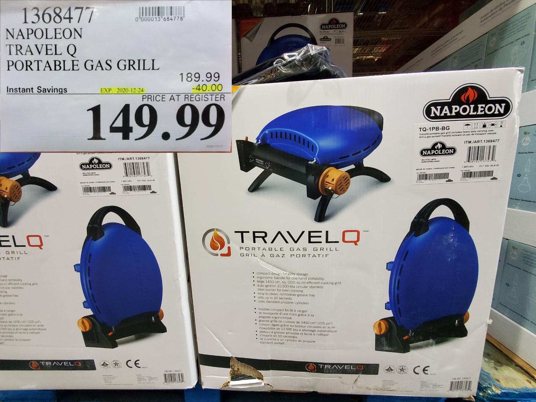 napoleon travel Q portable gas grill