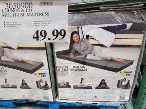 lounge & co folding mattress
