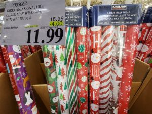 kirkland signature wrapping paper 4 pack
