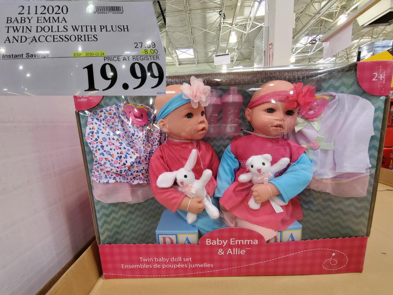 baby emma twin dolls
