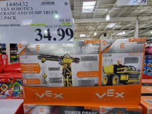 vex robotics crane and dump truck