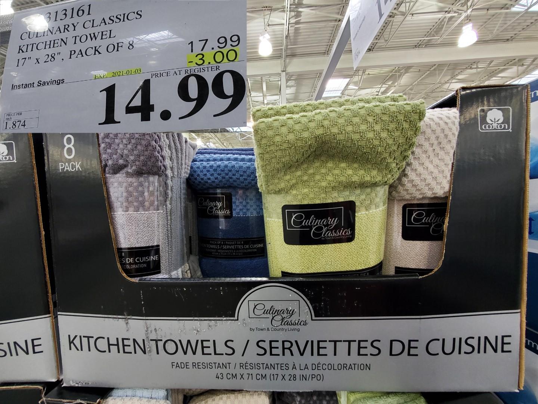 culinary classics kitchen towel