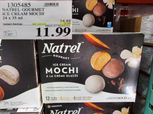 natrel gourmet ice cream mochi