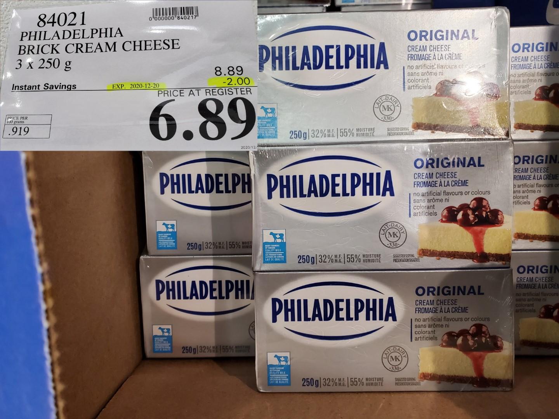 philadelphia brick cream cheese