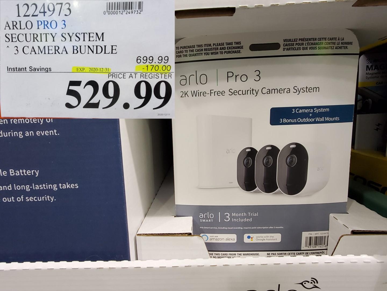 arlo pro 3 security cameras