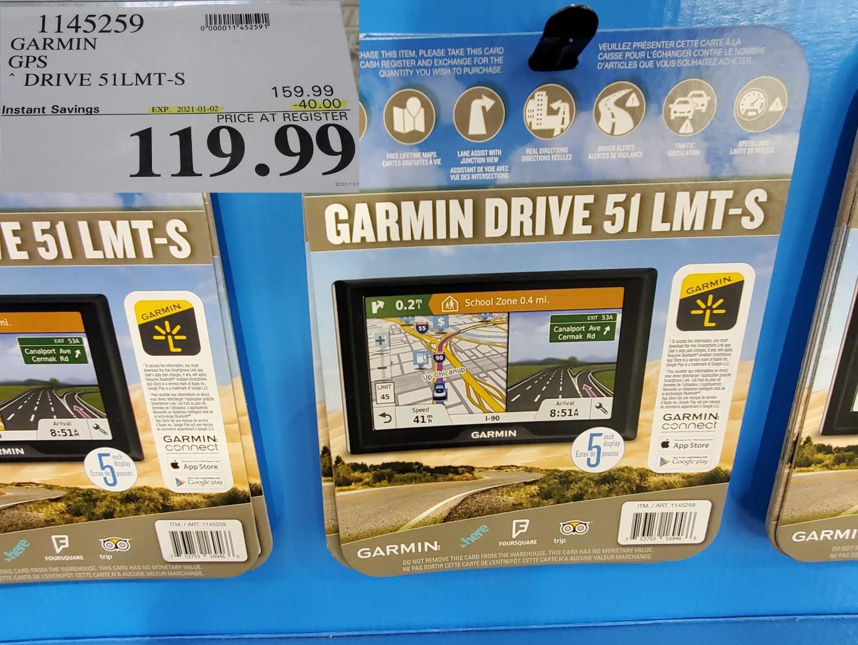 garmin drive 51lmt GPS