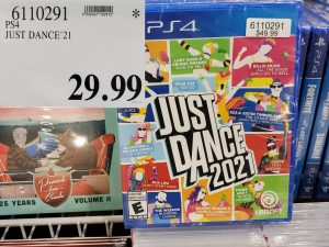 PS4 just dance 21