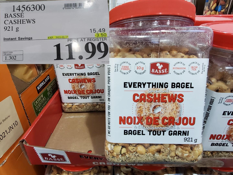 everything bagel cahews