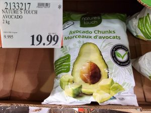 nature's touch frozen avocados