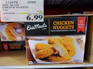 erie meats chicken nuggets