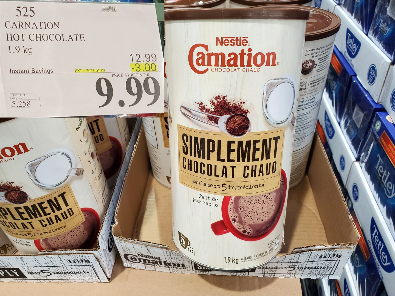 carnation hot chocolate