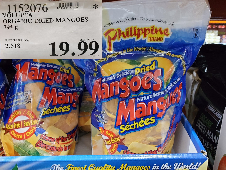 phillipine dried mangoes